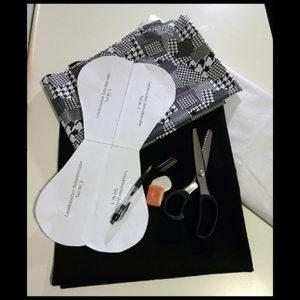 Benötigte Materialien für einen Leseknochen